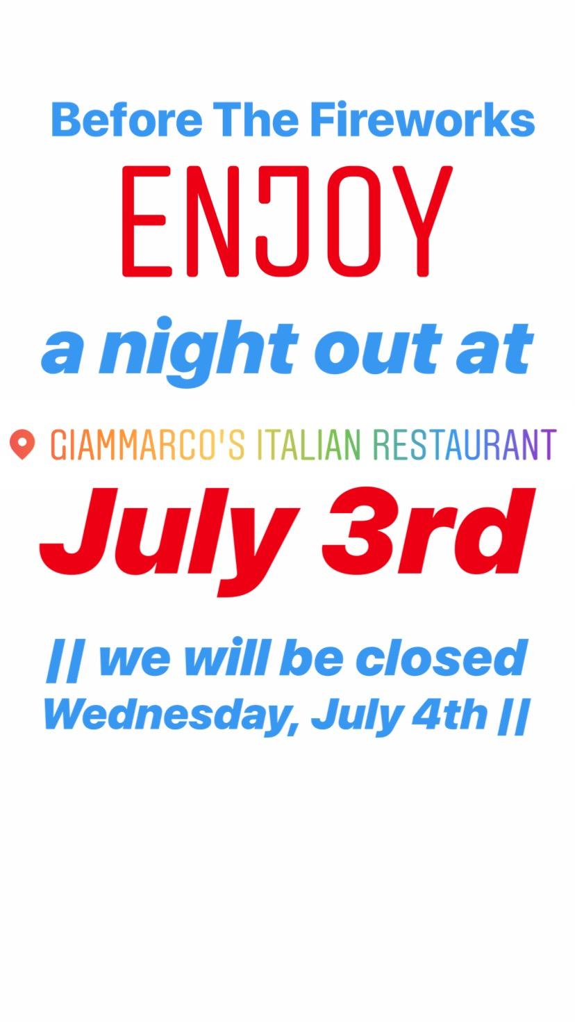 Category Uncategorized.Uncategorized Archives Giammarco S Italian Restaurant